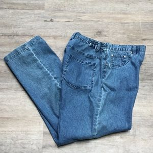 Alfred Dunner SZ 6P Stretch Denim Jeans P49